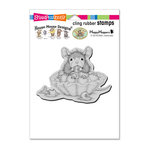 Stampendous - House Mouse Designs - Cling Mounted Rubber Stamps - Blueberry Tart