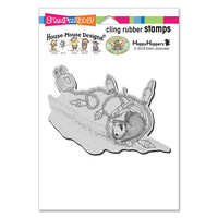 Stampendous - Christmas - House Mouse Designs - Cling Mounted Rubber Stamps - Tangle Tumble