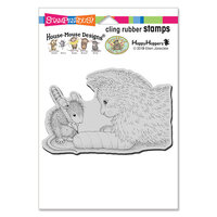 Stampendous - House Mouse Designs - Cling Mounted Rubber Stamps - Kitten Cast