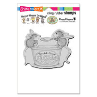 Stampendous - House Mouse Designs - Cling Mounted Rubber Stamps - Mousse Mice