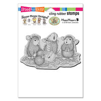 Stampendous - House Mouse Designs - Cling Mounted Rubber Stamps - Bon Bon Birthday