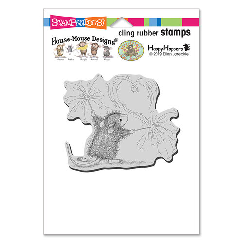 Stampendous - House Mouse Designs - Cling Mounted Rubber Stamps - Sparkler Art
