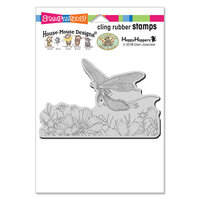 Stampendous - Cling Mounted Rubber Stamps - Butterfly Soaring