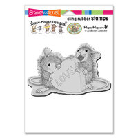 Stampendous - Cling Mounted Rubber Stamps - Love Treat