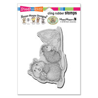 Stampendous - House Mouse Designs - Cling Mounted Rubber Stamps - Missing Treats