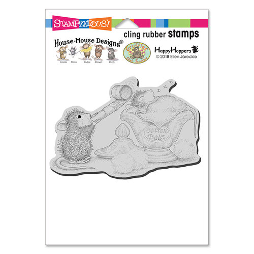 Stampendous - House Mouse Designs - Cling Mounted Rubber Stamps - Sleepy Surprise