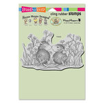 Stampendous - House Mouse Designs - Cling Mounted Rubber Stamps - Garden Kiss