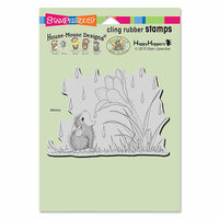 Stampendous - House Mouse Designs - Cling Mounted Rubber Stamps - Crocus Droplet