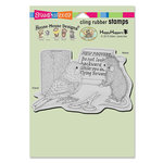 Stampendous - House Mouse Designs - Cling Mounted Rubber Stamps - New Proverb