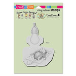 Stampendous - House Mouse Designs - Cling Mounted Rubber Stamps - Catching Rays