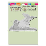 Stampendous - House Mouse Designs - Cling Mounted Rubber Stamps - Carrier Hummer
