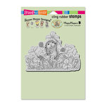 Stampendous - House Mouse Designs - Cling Mounted Rubber Stamps - Lucky Clover
