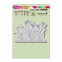 Stampendous - House Mouse Designs - Cling Mounted Rubber Stamps - Crocus Nap