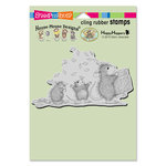 Stampendous - House Mouse Designs - Cling Mounted Rubber Stamps - Tossing Confetti