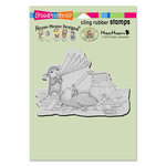 Stampendous - House Mouse Designs - Cling Mounted Rubber Stamps - Keeping Cool