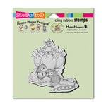 Stampendous - House Mouse Designs - Cling Mounted Rubber Stamps - Tiny Tailor