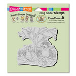 Stampendous - House Mouse Designs - Halloween - Cling Mounted Rubber Stamps - Costume Play