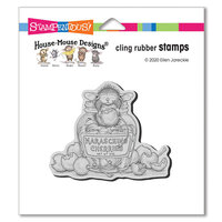 Stampendous - Cling Mounted Rubber Stamps - Maraschino Mouse