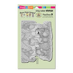 Stampendous - House Mouse Designs - Cling Mounted Rubber Stamps - Strawberry Treat