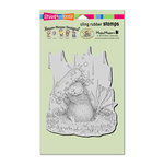 Stampendous - House Mouse Designs - Cling Mounted Rubber Stamps - Soapy Smile