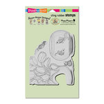 Stampendous - House Mouse Designs - Cling Mounted Rubber Stamps - Fish Bowl Dive