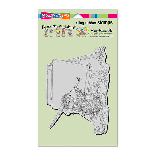 Stampendous - House Mouse Designs - Cling Mounted Rubber Stamps - Outdoor Painter