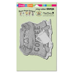 Stampendous - House Mouse Designs - Cling Mounted Rubber Stamps - Coffee Break