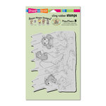 Stampendous - House Mouse Designs - Cling Mounted Rubber Stamps - Puddle Jumpers