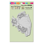 Stampendous - House Mouse Designs - Cling Mounted Rubber Stamps - Ice Cream Crazy