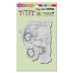 Stampendous - House Mouse Designs - Cling Mounted Rubber Stamps - Lemon Sour