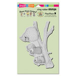 Stampendous - House Mouse Designs - Christmas - Cling Mounted Rubber Stamps - Birdie Gifts