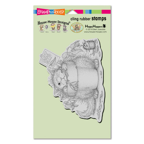 Stampendous - House Mouse Designs - Cling Mounted Rubber Stamps - Catnip Snack