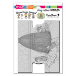 Stampendous - House Mouse Designs - Cling Mounted Rubber Stamps - Cat Tracking