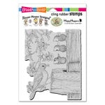 Stampendous - House Mouse Designs - Cling Mounted Rubber Stamps - Tweet Treat