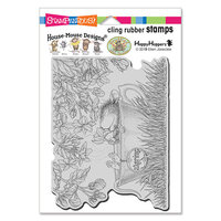 Stampendous - House Mouse Designs - Cling Mounted Rubber Stamps - Jasmine Tea