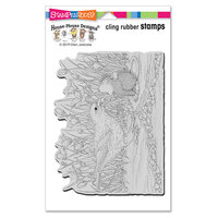 Stampendous - House Mouse Designs - Cling Mounted Rubber Stamps - Berry Birdie