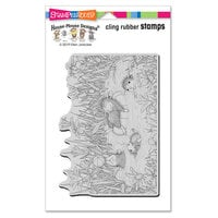 Stampendous - House Mouse Designs - Cling Mounted Rubber Stamps - Pool Play