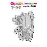 Stampendous - House Mouse Designs - Cling Mounted Rubber Stamps - Christmas Morning
