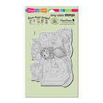 Stampendous - House Mouse Designs - Cling Mounted Rubber Stamps - Tissue Box