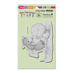 Stampendous - House Mouse Designs - Cling Mounted Rubber Stamps - Sunblock Squirt