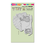 Stampendous - House Mouse Designs - Cling Mounted Rubber Stamps - Soft Serve Spill