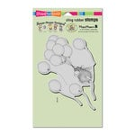 Stampendous - House Mouse Designs - Cling Mounted Rubber Stamps - Helium Ride
