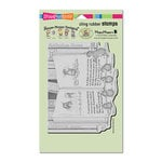 Stampendous - House Mouse Designs - Cling Mounted Rubber Stamps - Mudpie Tale
