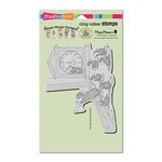 Stampendous - House Mouse Designs - Cling Mounted Rubber Stamps - Teacher Time