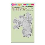 Stampendous - House Mouse Designs - Cling Mounted Rubber Stamps - Kitty Bounce