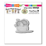 Stampendous - House Mouse Designs - Cling Mounted Rubber Stamps - Cotton Ball