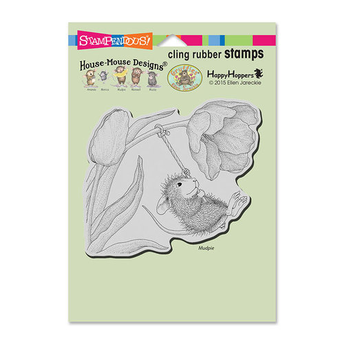 Stampendous - House Mouse Designs - Cling Mounted Rubber Stamps - Spring Swing