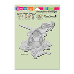 Stampendous - House Mouse Designs - Cling Mounted Rubber Stamps - Grasshopper Leap
