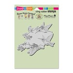 Stampendous - House Mouse Designs - Cling Mounted Rubber Stamps - Fuchsia Flight