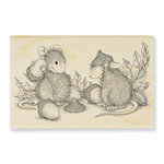 Stampendous - House Mouse Designs - Wood Mounted Stamps - Acorn Cap